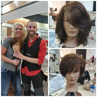 April attended an advanced cutting class and our staff for 921 salon baltimore
